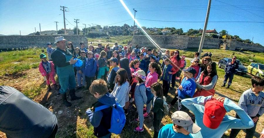Καθάρισαν σημεία της διαδρομής του Αγώνα Λιμένων Μεγάρων-Νέας Περάμου
