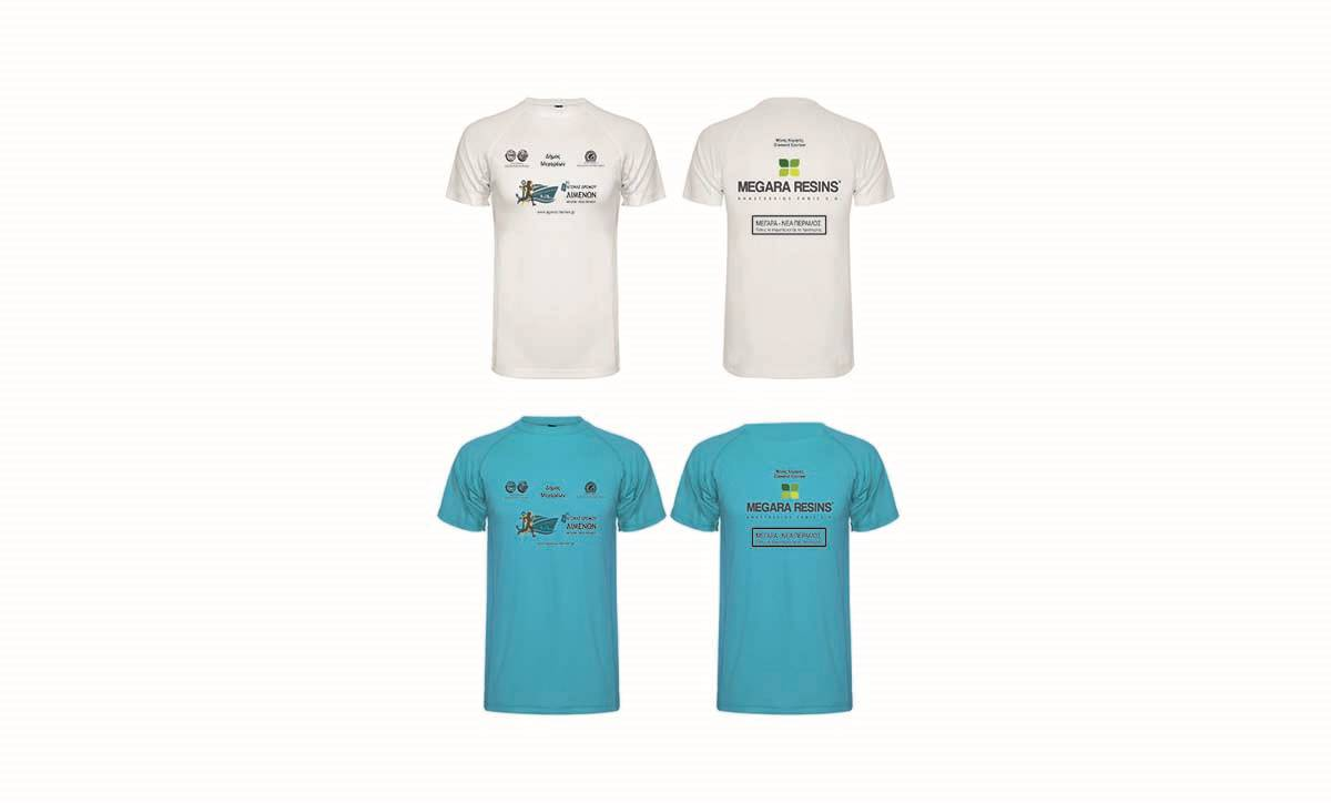 Τα τεχνικά μπλουζάκια του 4ου Αγώνα Δρόμου Λιμένων είναι έτοιμα!